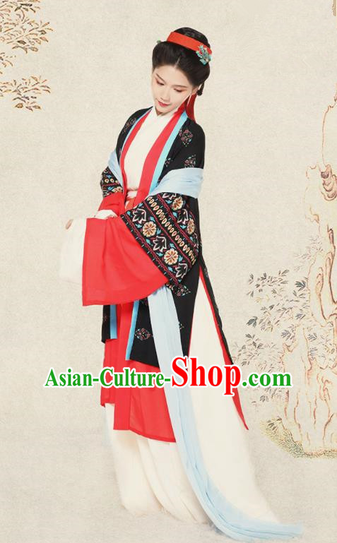 Top Grade Chinese Ancient Palace Lady Costumes Song Dynasty Princess Hanfu Dress for Women