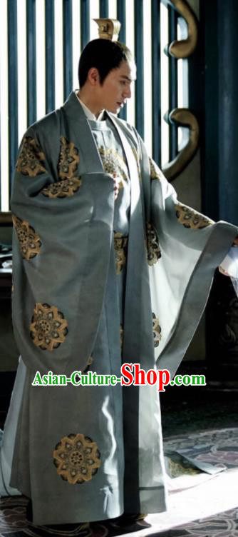 Ancient Chinese The Rise of Phoenixes Tang Dynasty Swordsman Prince Costumes for Men