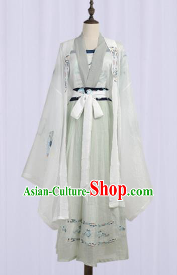 Chinese Ancient Fairy Costumes Traditional Tang Dynasty Imperial Consort Hanfu Dress for Women