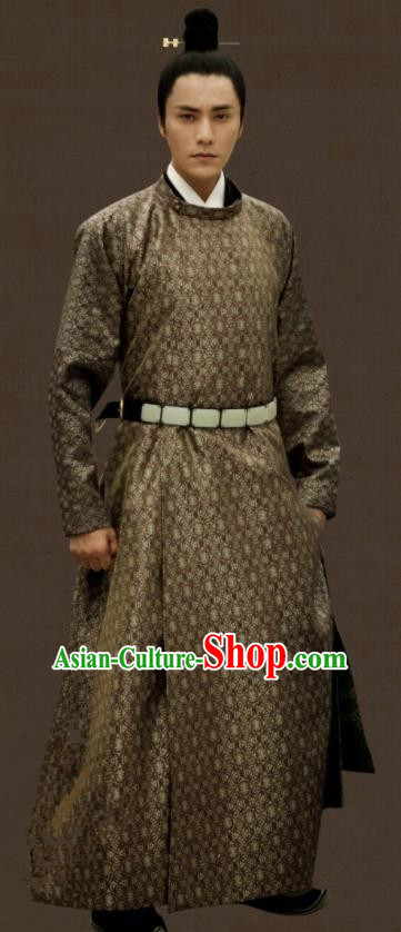 Chinese Tang Dynasty Royal Highness Clothing The Rise of Phoenixes Ancient Childe Costume for Men