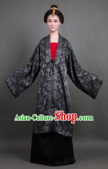 Traditional Chinese Song Dynasty Countess Costume Ancient Hanfu Dress for Rich Women