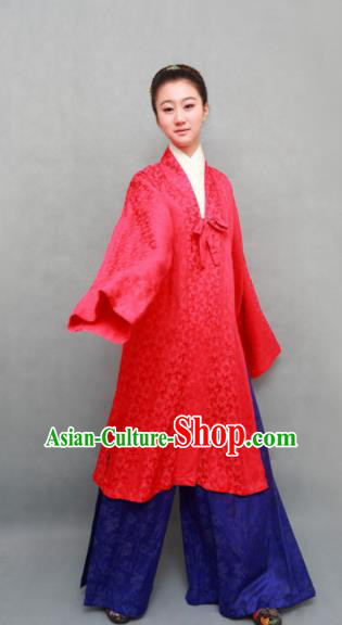 Traditional Chinese Ming Dynasty Hanfu Dress Ancient Marquise Costume for Women
