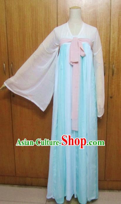 Traditional Chinese Tang Dynasty Princess Hanfu Dress Ancient Fairy Costume for Women