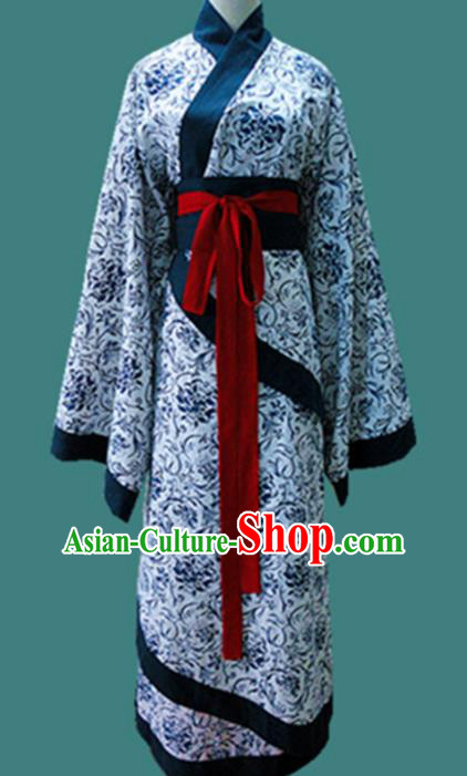 Traditional Chinese Han Dynasty Palace Lady Hanfu Dress Ancient Princess Fairy Costume for Women