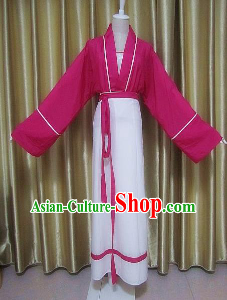 Traditional Chinese Song Dynasty Maidservant Clothing Ancient Swordsman Costume for Women
