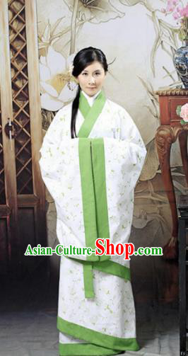 Chinese Traditional Han Dynasty Maidenform Hanfu Dress Ancient Palace Princess Costumes for Women