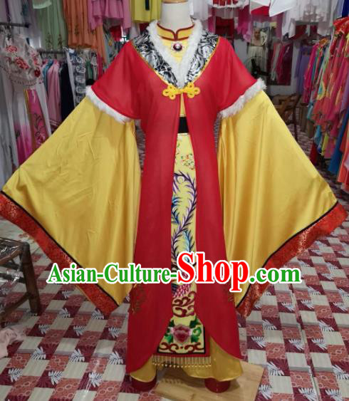 Chinese Traditional Beijing Opera Imperial Empress Hanfu Dress Peking Opera Diva Costume for Adults