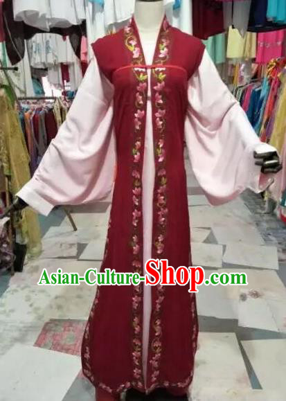Chinese Traditional Beijing Opera Niche Embroidered Costume Peking Opera Scholar Clothing for Adults