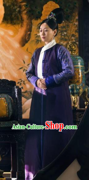 Ancient Chinese Qing Dynasty Court Maid Drama Ruyi Royal Love in the Palace Costumes for Women