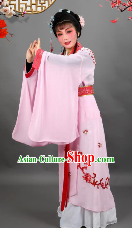 Professional Chinese Traditional Beijing Opera Queen Pink Dress Ancient Empress Costume for Women