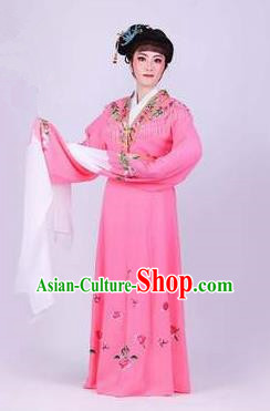 Chinese Traditional Peking Opera Actress Rich Lady Pink Dress Ancient Royal Princess Costume for Women