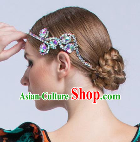 Handmade Latin Dance Competition Hair Stick Modern Dance International Rumba Dance Hair Accessories for Women
