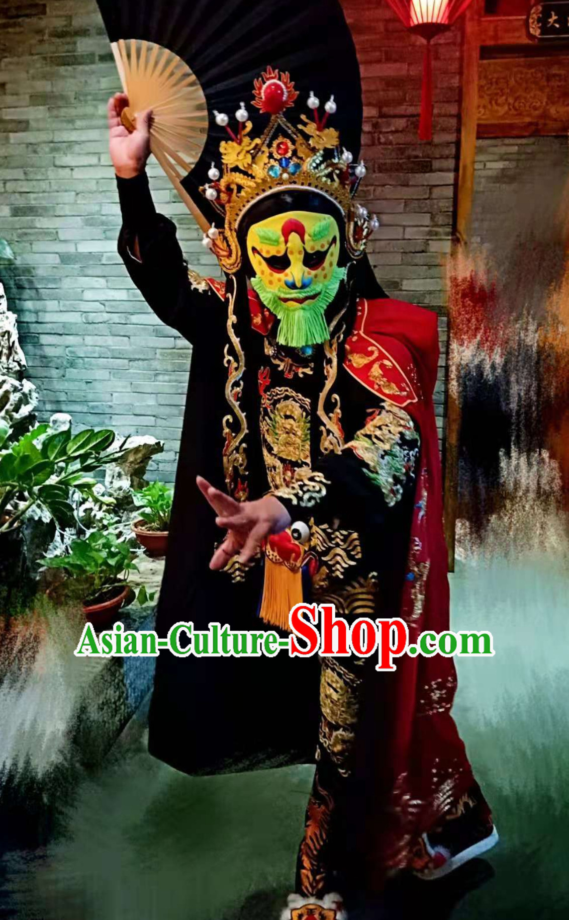 Top Handmade Long Beards Bian Lian Mask Mask Changing Mask Mask Change Mask