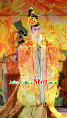 Chinese The Dream of Dongjing Song Dynasty Court Queen Dance Dress Stage Performance Costume for Women