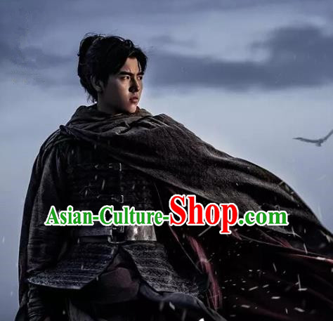 Drama Ever Night Ancient Chinese Swordsman Ning Que Clothing Traditional Tang Dynasty General Costumes for Men