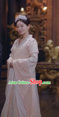 Drama Ever Night Chinese Ancient Empress Xia Tian Hanfu Dress Traditional Tang Dynasty Queen Costumes for Women