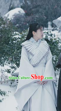 Ever Night Chinese Drama Ancient Female Swordsman Mo Shanshan Hanfu Dress Traditional Tang Dynasty Nobility Lady Costumes for Women