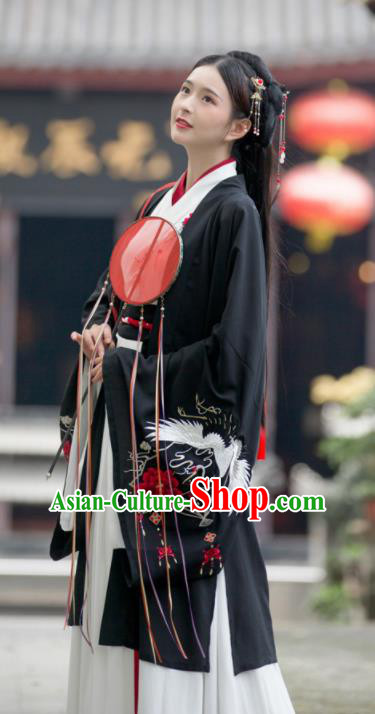 Traditional Chinese Wei and Jin Dynasty Imperial Consort Replica Costumes Ancient Royal Lady Hanfu Dress for Women