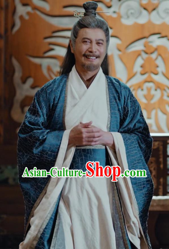 Chinese Drama Fights Break Sphere Ancient Swordsman Hanfu Costumes for Men
