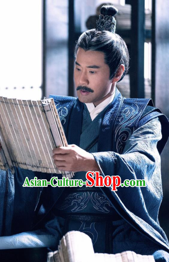 Drama Fights Break Sphere Ancient Chinese Royal Highness Swordsman Xiao Zhan Costumes for Men