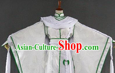 Customize Chinese Traditional Cosplay Nobility Childe Prince Costumes Ancient Swordsman Clothing for Men