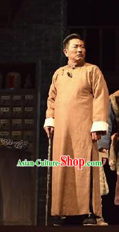 Chinese Drama Traditional Remedy Qing Dynasty Civilian Clothing Stage Performance Dance Costume for Men