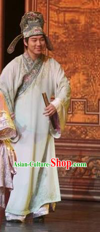 Chinese Impression of Suzhou Peking Opera Niche Clothing Stage Performance Dance Costume for Men