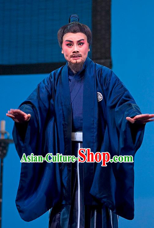 The Legend of Chunqin Shaoxing Opera Japan Haori Kimono Clothing Stage Performance Dance Costume for Men