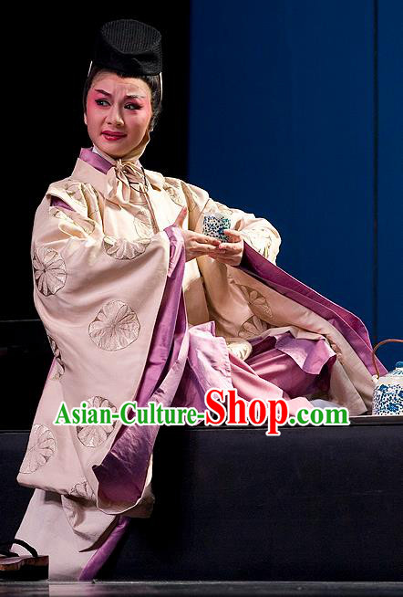 The Legend of Chunqin Shaoxing Opera Japan Emperor Kimono Clothing Stage Performance Dance Costume for Men