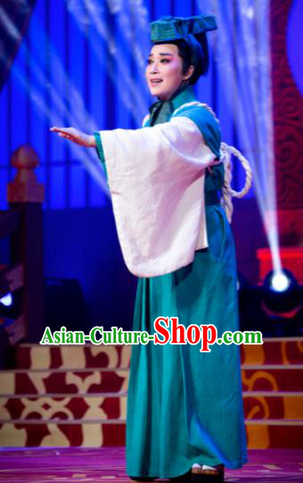 Chinese the Legend of Chunqin Shaoxing Opera Niche Dance Clothing Stage Performance Dance Costume for Men