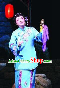 Chinese Moon Shines On Sugarbush Ferry Classical Dance Dress Stage Performance Dance Costume and Headpiece for Women