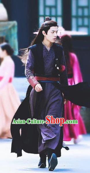Drama The Untamed Chinese Ancient Swordsman Wei Wuxian Xiao Zhan Costumes for Men
