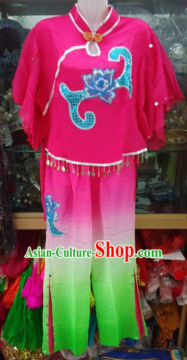 Chinese Traditional Beijing Opera Costume Peking Opera Folk Dance Clothing for Adults