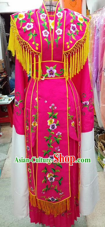 Chinese Traditional Beijing Opera Young Lady Costume Peking Opera Diva Dress for Adults