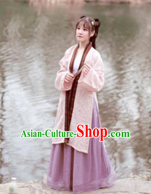 Chinese Ancient Hanfu Dress Song Dynasty Aristocratic Lady Historical Costumes for Women