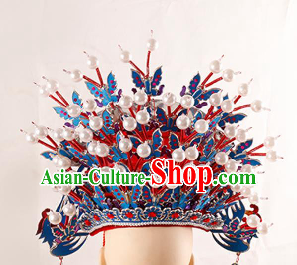 Chinese Traditional Beijing Opera Phoenix Coronet Ancient Kun Opera Hair Accessories Imperial Consort Headwear