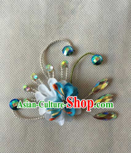 Asian Chinese Beijing Opera Jewelry Accessories Ancient Princess Brooch for Women