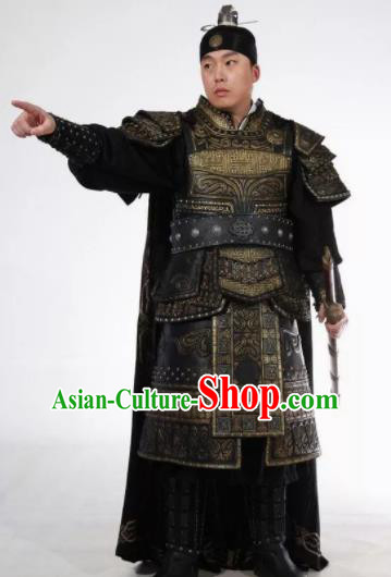 Chinese Ancient Drama Song Dynasty Warrior General Body Armor Complete Set