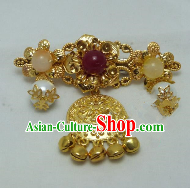 Chinese Ancient Queen Hair Claw Hair Accessories Traditional Palace Hairpins for Women