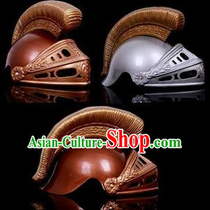 Traditional Roman General Headdress Ancient Rome Warrior Helmet for Men