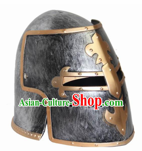 Traditional Roman General Headpiece Ancient Rome Warrior Helmet for Men
