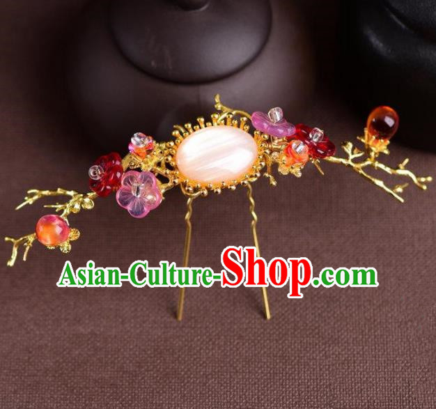 Handmade Chinese Ancient Princess Hairpins Traditional Hair Accessories Headdress for Women