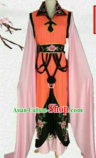 Chinese Traditional Beijing Opera Actress Embroidered Dress Ancient Nobility Lady Costume for Women