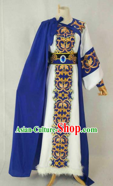 Chinese Traditional Beijing Opera Niche Clothing Ancient Prince Embroidered Costume for Men