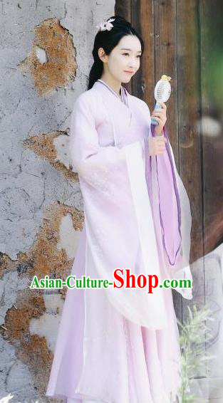 Traditional Chinese Drama Princess Hanfu Dress Ancient Female Knight Replica Costume for Women