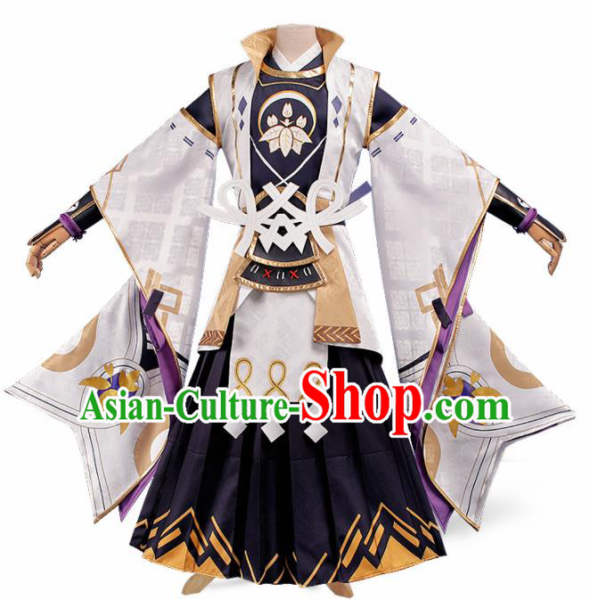 Chinese Traditional Cosplay Hero Swordsman Costume Ancient Knight Hanfu Clothing for Men