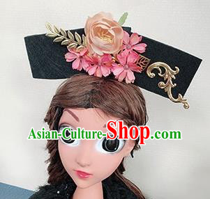 Chinese Handmade Qing Dynasty Hair Accessories Ancient Palace Princess Hair Clasp for Women