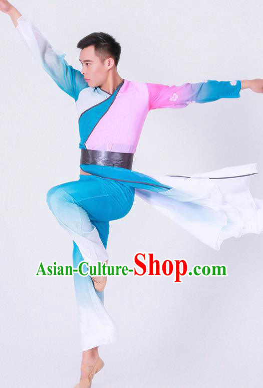 Chinese Traditional Stage Performance Costume Classical Dance Clothing for Men