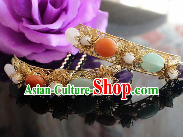 Chinese Handmade Hanfu Hair Clip Hairpins Traditional Ancient Princess Hair Accessories for Women