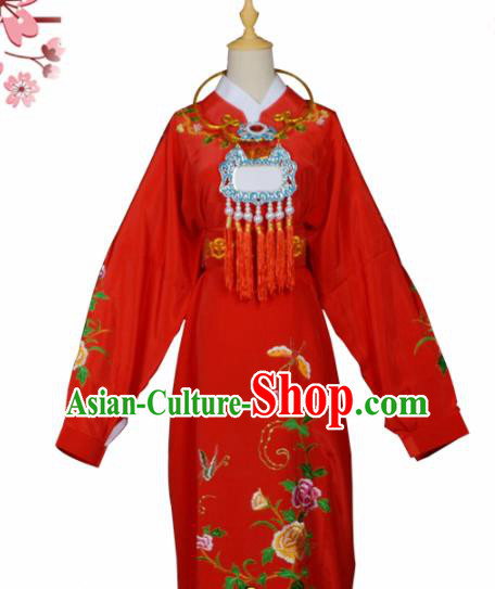 Handmade Chinese Beijing Opera Niche Costume Peking Opera Scholar Jia Baoyu Red Clothing for Men